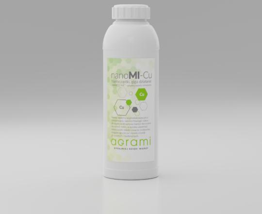 nanoMI-Cu - butelka